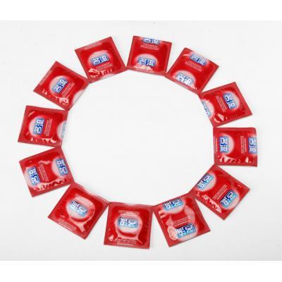 名流避孕套 加倍润滑型10只装 超薄快感