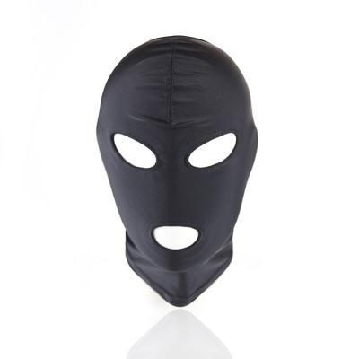 弹力布露嘴露眼睛头罩 角色扮演面罩情趣头套
