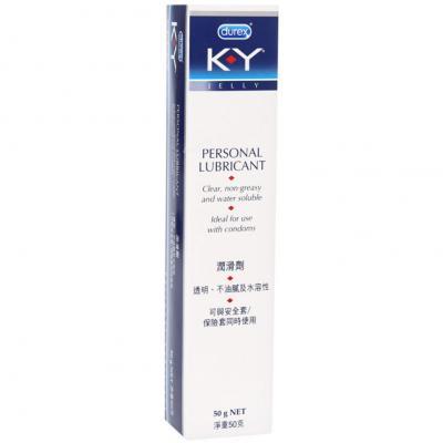 杜蕾斯KY人体润滑油50g快感增强液剂女房事高潮后庭性用品